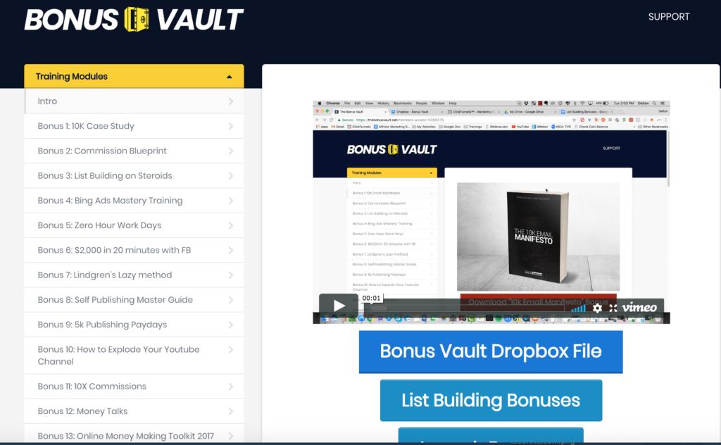 The Bonus Vault Review