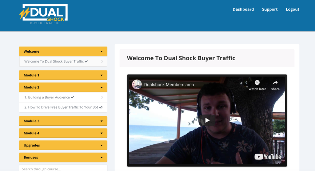 DUAL-SHOCK Buyer Traffic