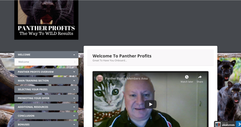 Panther Profits Review