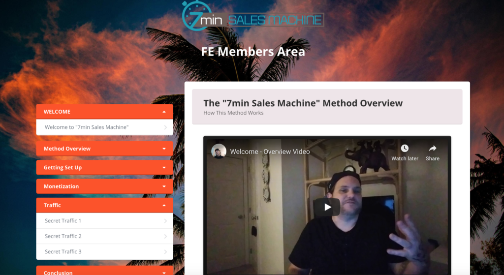7 Min Sales Machine Review