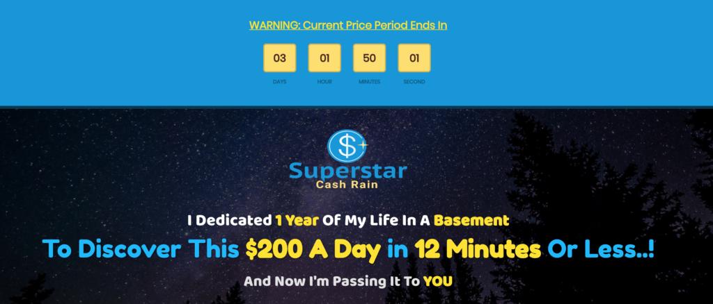 Superstar Cash Rain Review